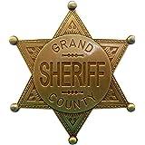 Denix stella per sceriffo, con scritta Grand County