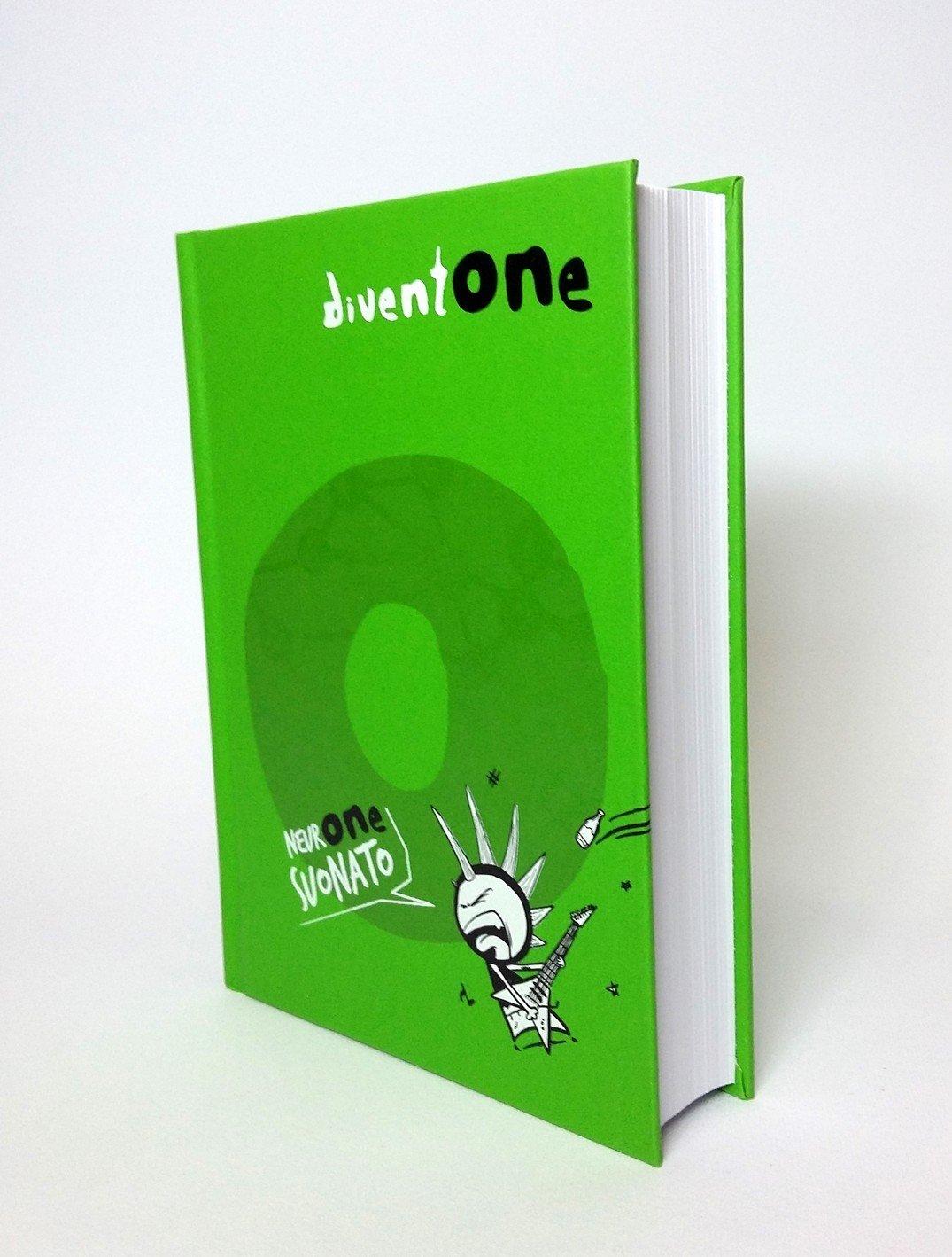 Seven Diventone Diario Pocket 16 mesi Scuola (Verde)