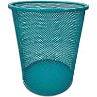 Corbeille à papier | Poubelle pour le recyclage du papier, carton… | EUROXANTY® | 24 x 27 cm | Bleu | 10 L