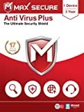 Max Secure Anti-Virus Plus Latest Version with Ransomware Protection ( Windows ) - 1PC, 3 Years (Email Delivery in 2 Hrs…