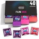 Durex Fun Explosion condooms in stijlvolle doos, spannende verscheidenheid, praktisch en discreet verpakt, voorkomt dat je pl