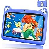 Tablet 7 Pollici con WiFi Offerte, Andriod 9.0 Quad Core 3GB RAM+32 GB ROM, 4000mAh Tablet Bambini 7 Pollici, Dual Cámara, iW