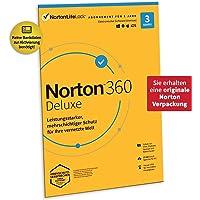 Norton 360 Deluxe 2020 | 3 Geräte |Unlimited Secure VPN und Passwort-Manager |1 Jahr|PC, Mac oder Mobilgerät…
