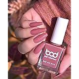 Bad Company Nail Polish, No Toxin Glossy Nail Lacquer, Gorgeous Brown 74, 10ml
