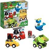 LEGO 10886 DUPLO Mijn Eerste Auto Creaties Bouwset met Speelgoed Auto en Bouwstenen, Speelgoed voor Kinderen Van 1,5 Jaar