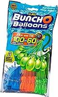 Zuru 1213 - Bunch o Balloons, 100 Wasserbomben in 60 Sekunden, selbst verschließend ohne Knoten, 3 Bündel mit je 35...