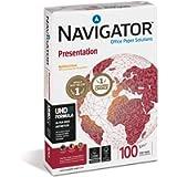 Navigator Presentation Carta Premium per ufficio, Formato A4, 100 gr, 1 Risma da 500 Fogli