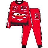 Disney Cars Pyjamas Kids Lightning McQueen Full Length Racing Driver Dress Up Pjs Set Nightwear