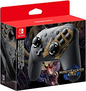 Switch Pro Controller (Monster Hunter Rise Edition) (Nintendo Switch)