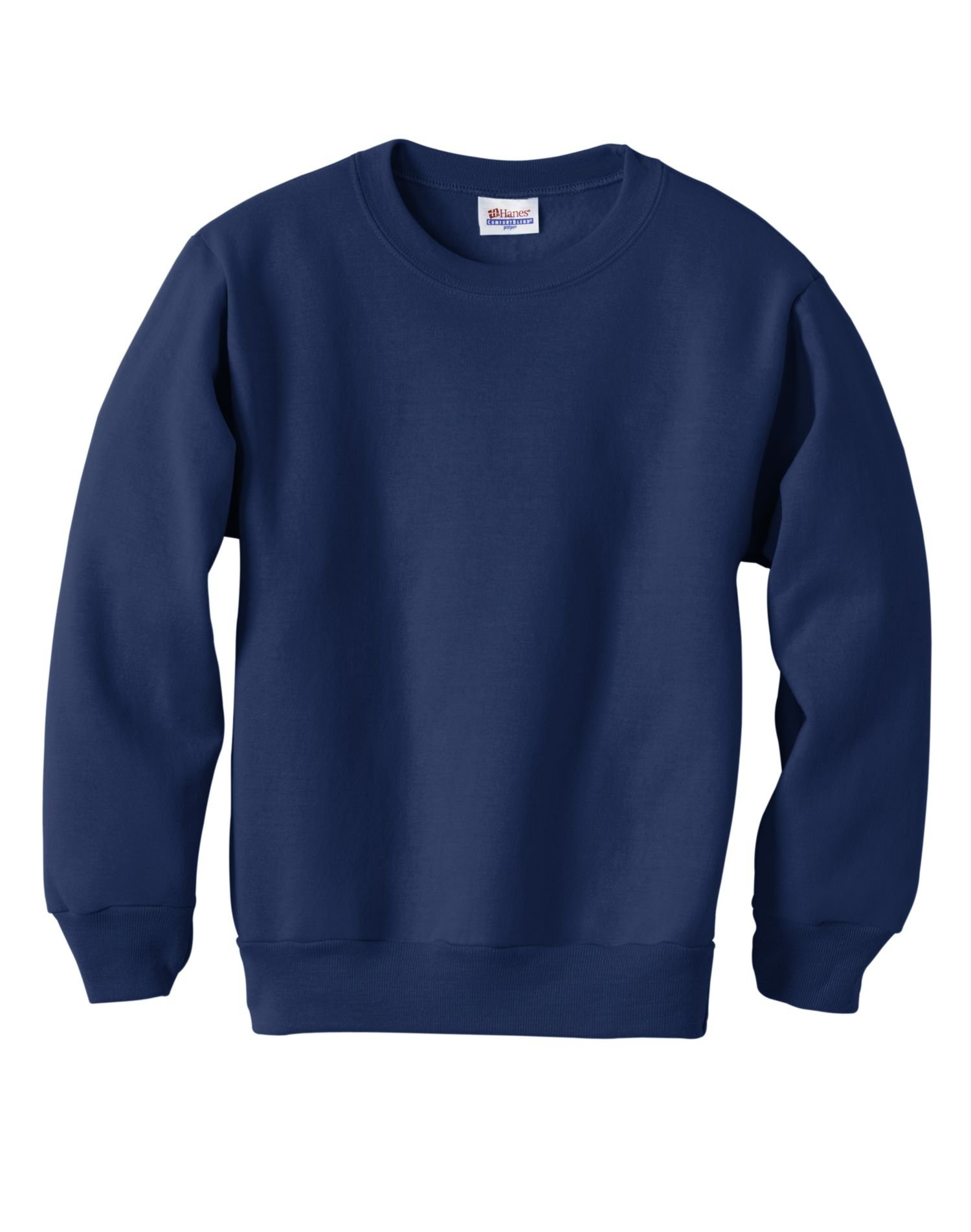 Hanes Youth-Pile a maniche lunghe girocollo ComfortBlend-p360