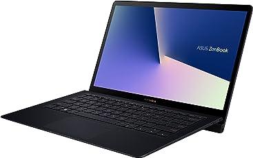 Asus ZenBook S UX391UA 90NB0D91-M02200 33,7 cm (13,3 Zoll, FHD, matt) Ultrabook (Intel Core i5-8250U, 8GB RAM, 256GB SSD, Intel UHD Graphics, Win10) blau