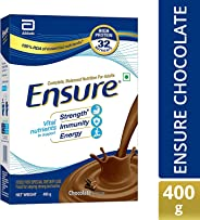 Ensure Complete, Balanced Nutrition Drink for Adults with Nutri – Strength Complex (Chocolate Flavour) – 400g