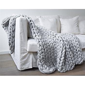 Tapis de lit épais en tricot - Fait à la main - Pour animal domestique - d06f969ef18
