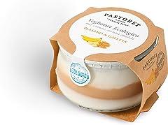 Pastoret Yogur Ecológico con Plátano y Galleta, 135 g