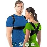 Postuur corrector voor vrouwen en mannen van aHeal   Rugondersteuning voor een goed postuur   Orthopedische rugbrace tegen sc