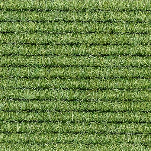 Teppichboden Teppich-Fliese | Tretford Interland ECO | 50x50 cm | grün 580