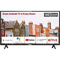 TCL 32ES568 32-Inch Smart Android TV HD, HDR, Micro Dimming, Netflix, YouTube, DVB…