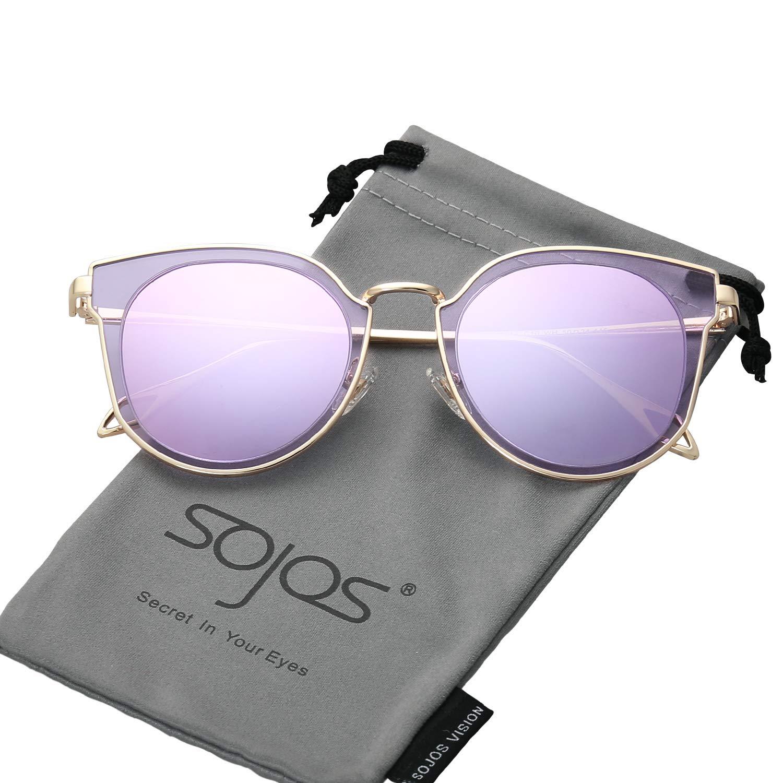 db8c92bdf3 ... SunglassesSojoS Fashion Polarized Sunglasses UV Mirrored Lens Oversize Metal  Frame SJ1057. -38%. 🔍. Men s Sunglasses