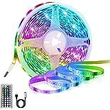 Ledstrip, RGB, 3 m, USB-ledstrip, 180 leds, 5050 ledstrips met 20 kleuren/6 modi, waterdicht IP65, afstandsbediening met 44 t