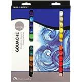 Daler Rowney Gouache Color Set, 12 ml - 24 Color