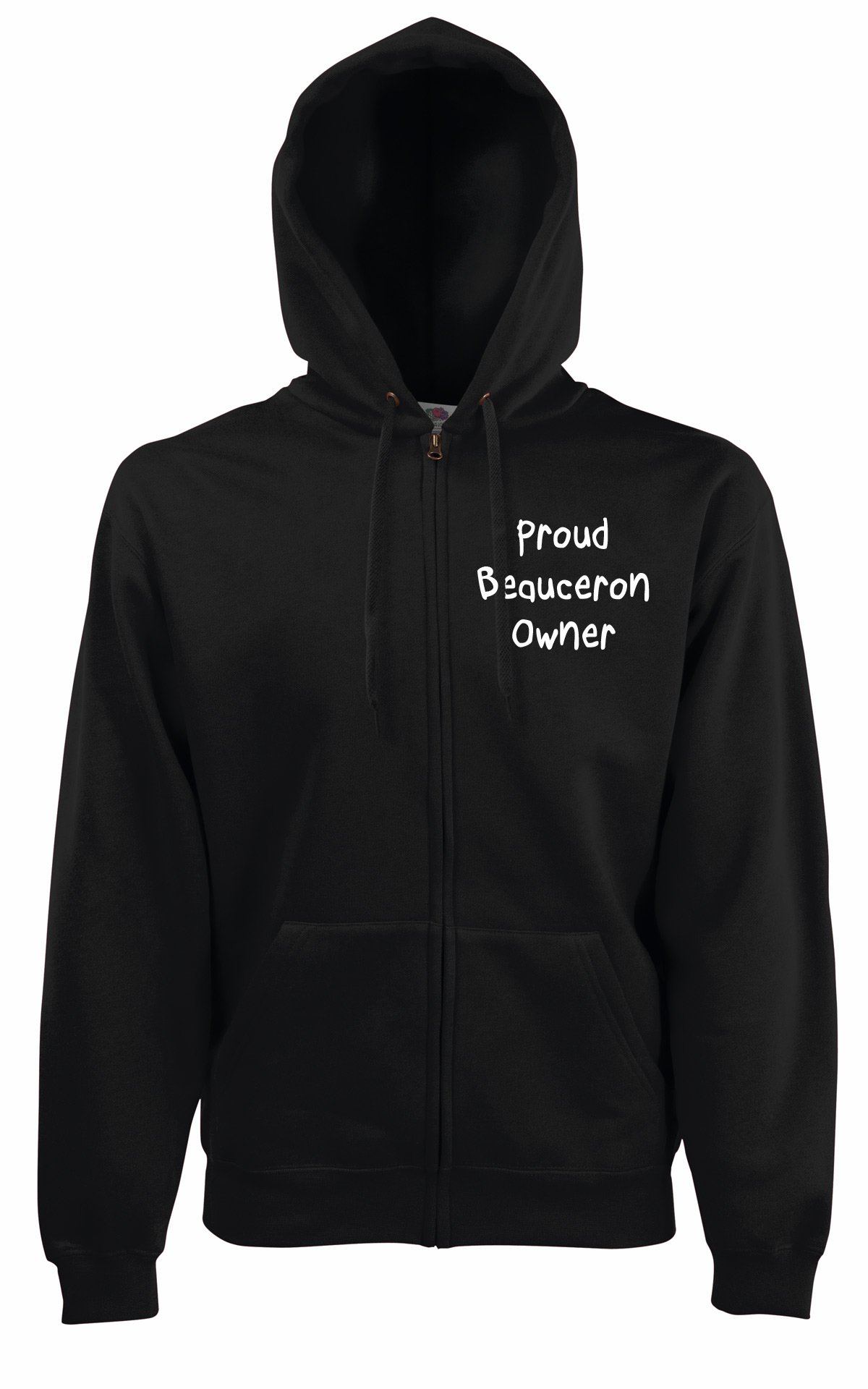 Proud Beauceron Owner Dog Walker Hooded Jacket Hoodie Gift
