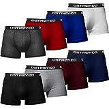 DSTROYED ® - Boxer da uomo, confezione da 8 pezzi, taglie S - 5XL