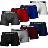DSTROYED ® Boxer Shorts Men's Underwear Retro Shorts 316 Pack of 8
