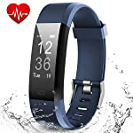 Smart Fitness Band, Muzili Activity Tracker with Heart Rate Monitor, 14 Sport Mode, IPX67 Waterproof Sleep Monitor...