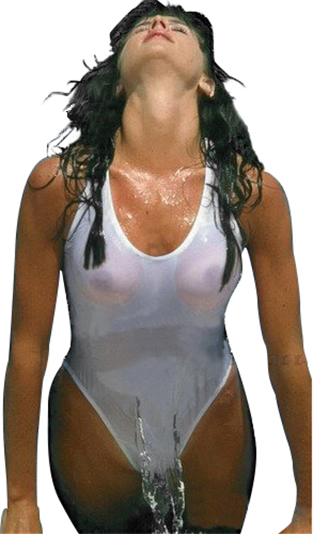Princesa Carioca Brasil Damen Bikini Erotisch Transparent aus Brasilien Farbe: Weiß B48