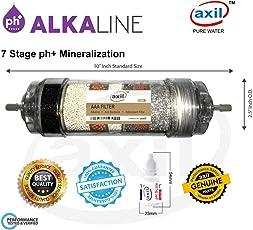 Alkaline Filter Cartridge for Ro Water Purifier  Alkaline + Anti Bacterial + Antioxidant Filter  Portable RO UV Water Purifier - Axil