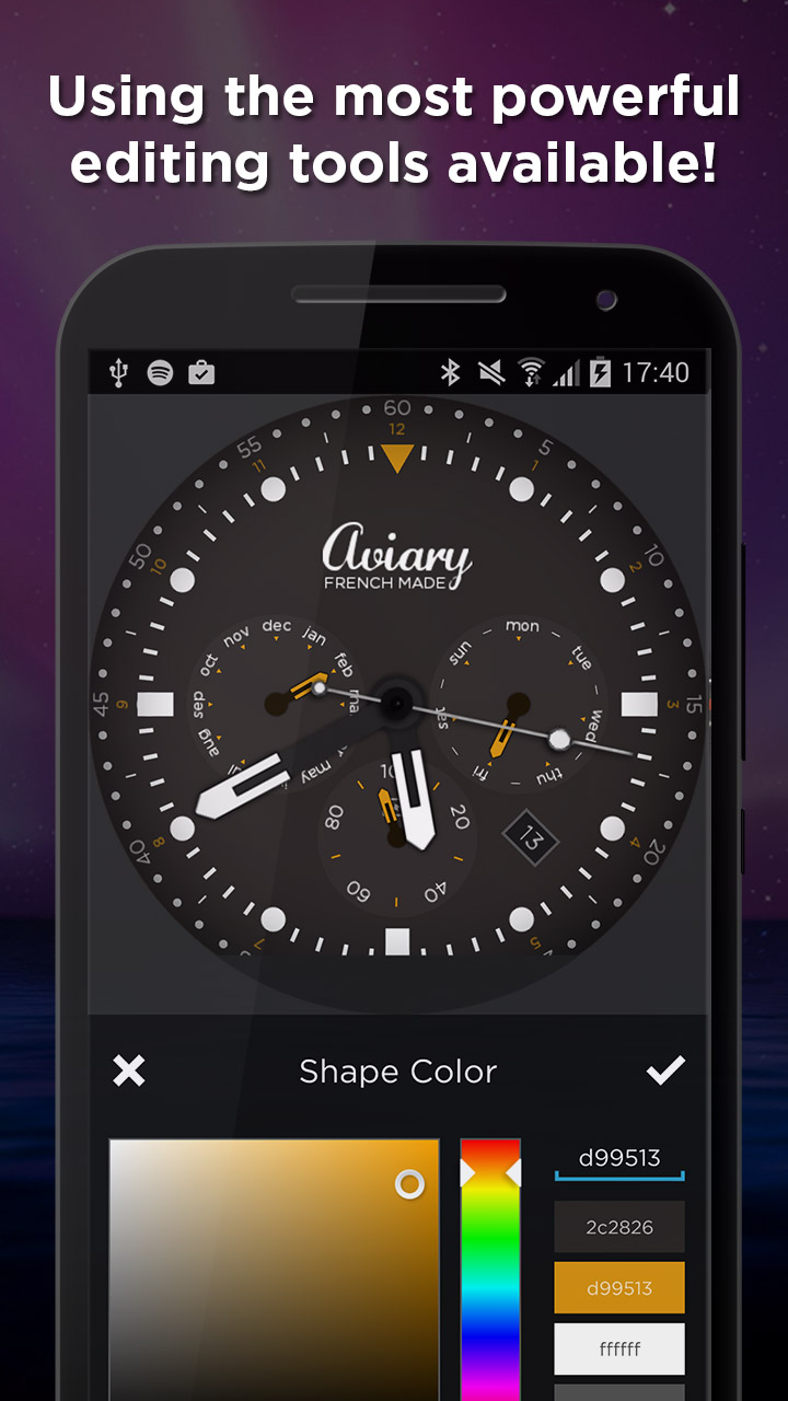 Watchmaker Premium Watch Face Appstore Pour Android Circuit Board Clock V 10 For G Facerepo 000