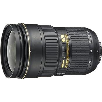 Nikon Obiettivo Nikkor AF-S 24-70 mm f/2.8G ED, Nero [Nital Card: 4 Anni di Garanzia]