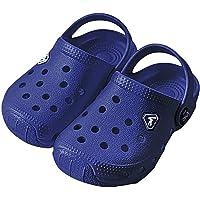 FANTURE Kids Garden Clogs Boys Girls Cute Slip-On Sandals Lightweight Beach Pool Sandals Water Shoes Sneakers Breathable…