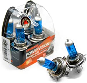 H4 Birnen Xenon P43t Auto Lampe Halogen 6000k 60 55w 12v Blue Vision 2er Box Auto