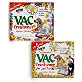 Vac Vacuum Cleaner Freshener Spring and Summer Meadow Hoover Disc For Pet Lovers, Air Freshener - Combo Pack(12 Disc)