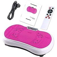 Coradoma Vibrationsplatte Vibrationsboard Fitness und Sport zum Abnehmen für Zuhause Power Plate Ultra Slim Rüttelplatte…