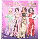 Depesche 11597 TOPModel - Dress Me Up stickerboek glamour, schilder- en stickerboek voor jonge modeontwerpers, 24 pagina's en