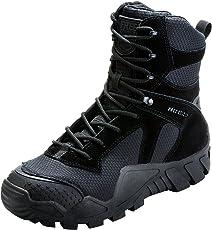 FREE SOLDIER Herren Military Top Sneaker Schuhe Tactical Wandern Stiefel Schnürschuh Arbeit Combat All Terrain Verschleißfest Stiefel 3 Farben