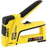 Stanley FatMax TR400 handnietmachine en nietmachine 4-in-1 (voor pen/nagels/fijne draadnietjes/ronde nietjes) FMHT6-70411