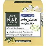 N.A.E. - Crème de Nuit Certifiée Bio - Soin Global - Peaux Matures - 50 ml