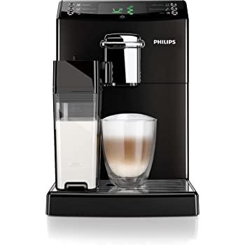 Philips HD8847/01 4000 Serie Kaffeevollautomat, integrierte Milchkaraffe, schwarz