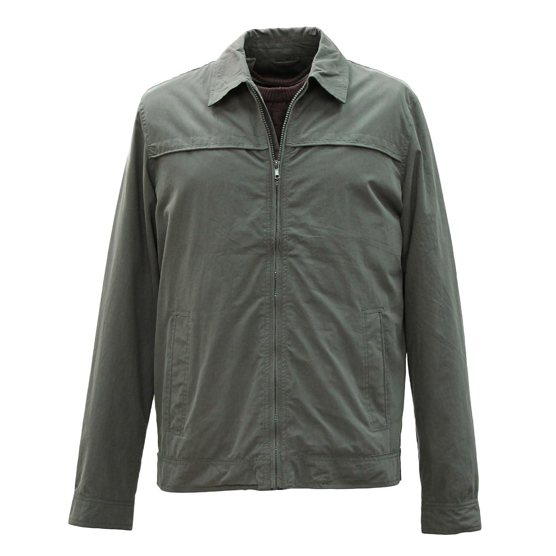 Mens jacket cotton - Men S Paul Berman Light Weight Anthracite Cotton Jacket S To 3x Amazon Co Uk Clothing