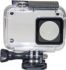 Kupton Gehäuse für Xiaomi 4K / Yi 4K+/Yi Lite/YI Discovery Tauchgehäuse Wasserdichtes Gehäuse 40m für Xiaoyi 4K Xiaomi II Yi Lite Action Kamera mit Halterung