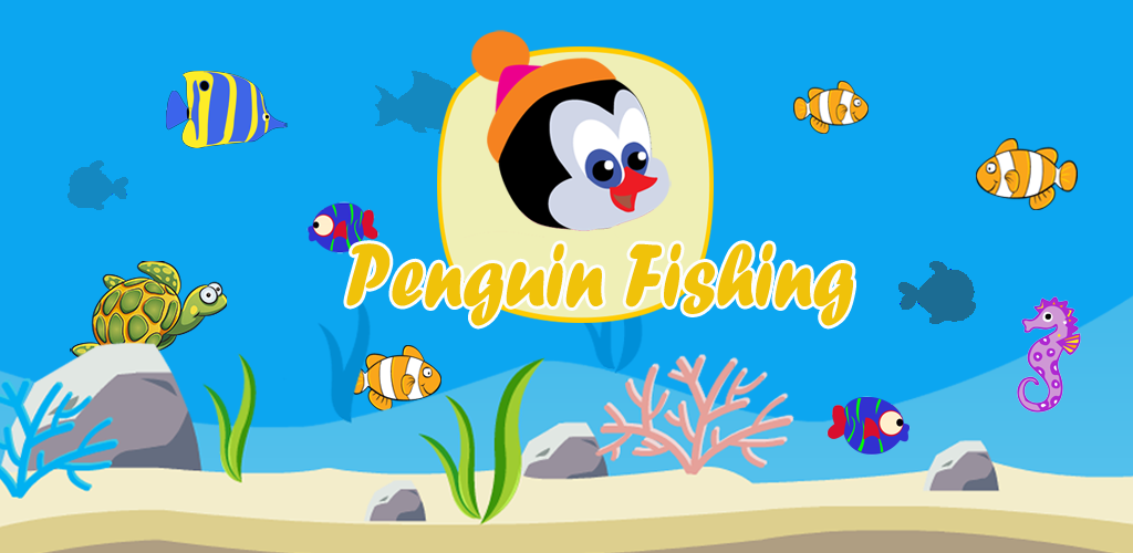 Image of Penguin Fishing Free Game - Hook Of Fisher Evolution