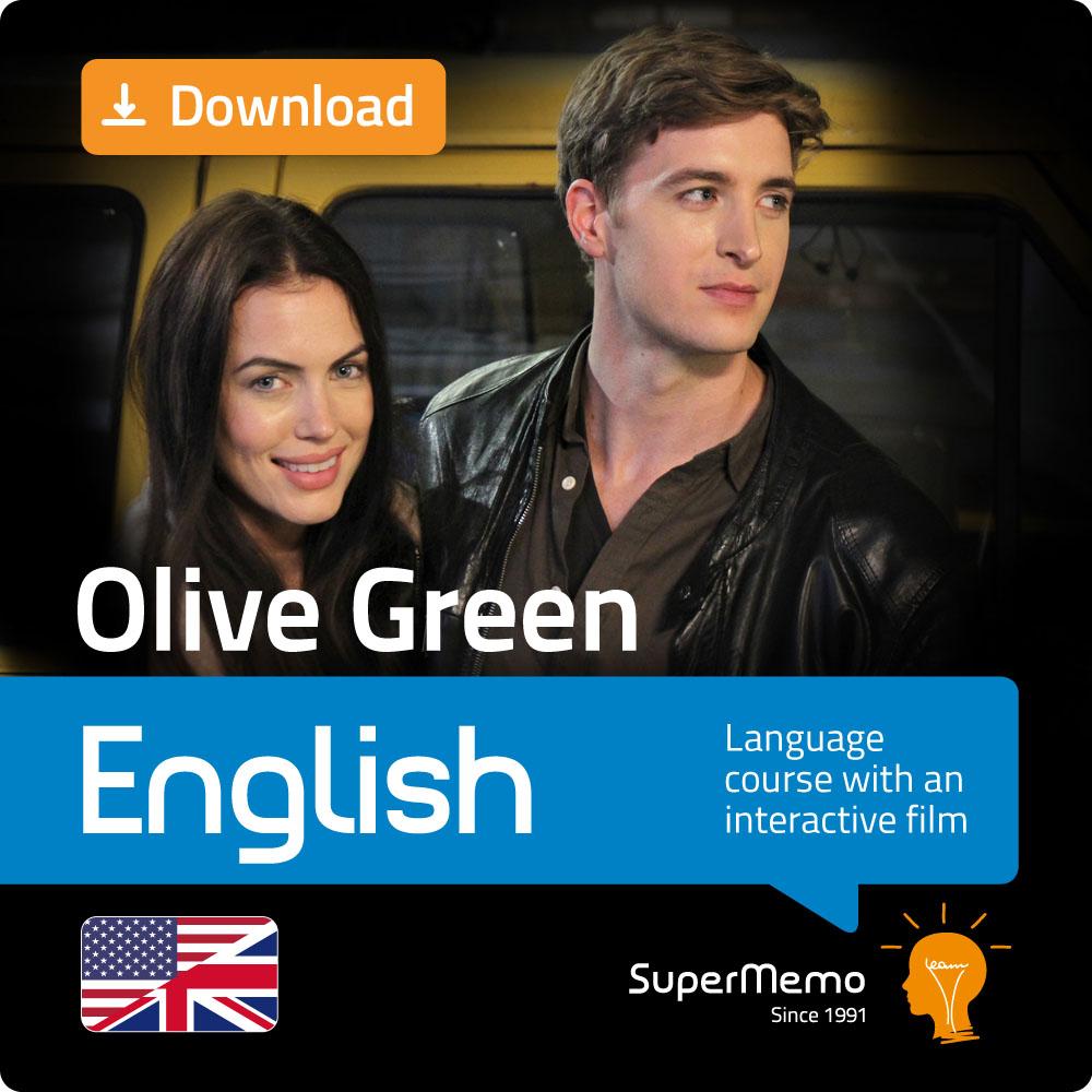 Olive Green Englischkurs mit interaktivem Film von SuperMemo (Alle Niveaus) - Kostenloser 1-wöchiger Promo-Code in Beschreibung. [Download]