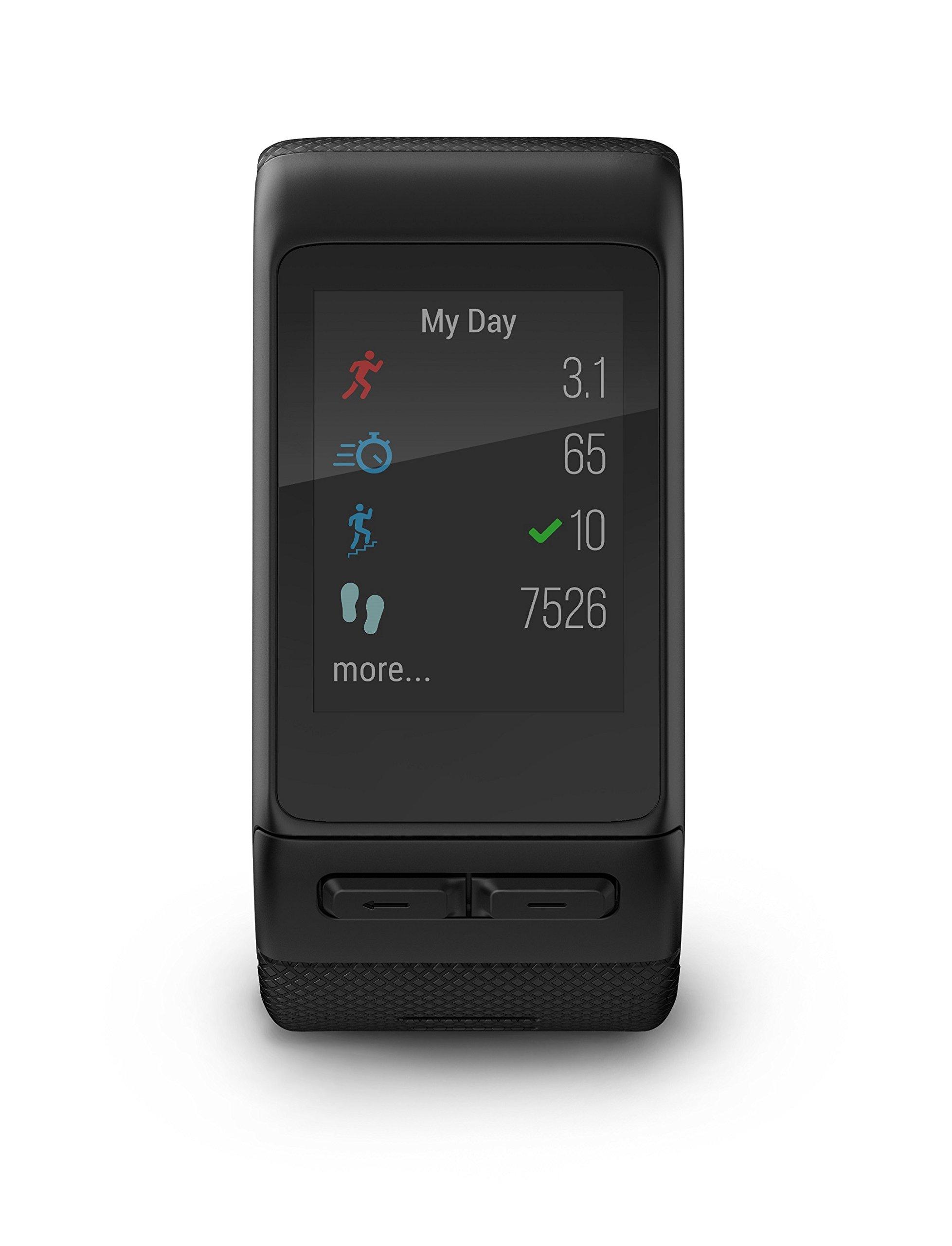 Garmin Vivoactive HR Regular Smartwatch con Cardio al Polso, Profili d'Attività Fisica, Cinturino Regular (M-L), Nero 3 spesavip