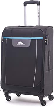 High Sierra Travel Tank Softside Spinner Luggage 78cm with 3 digit Number Lock - Black