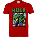 Marvel Comics Hulk Smash Camiseta de los Muchachos | mercancía Oficial | Edades 2-13, Ropa de los niños, Avengers Top de los
