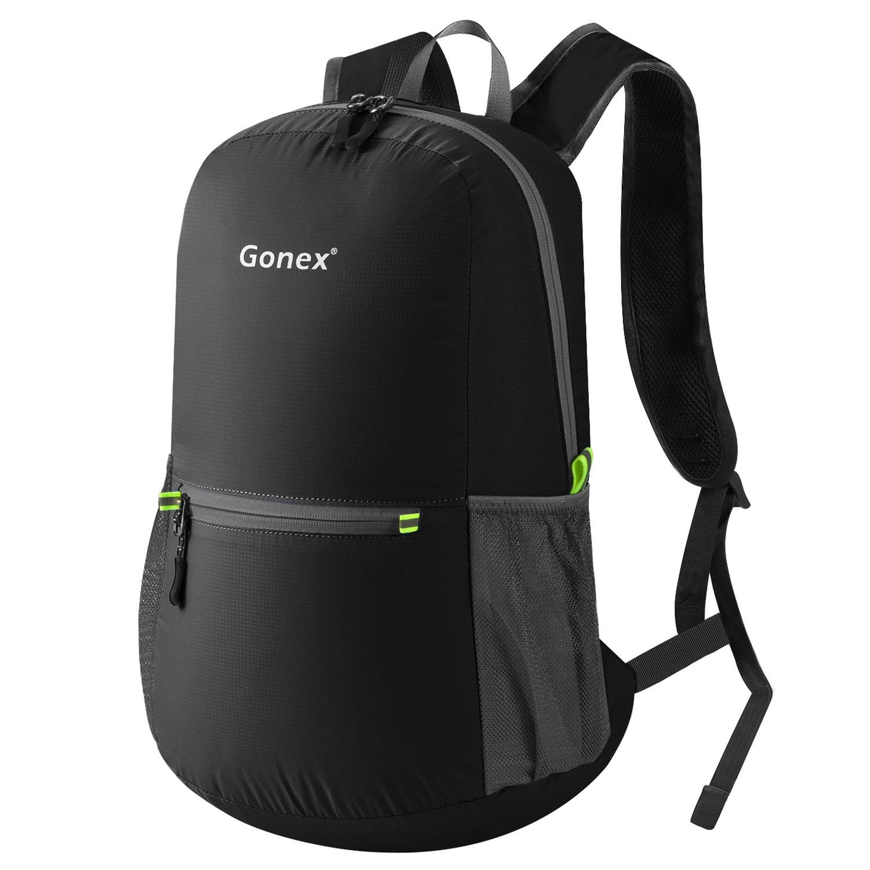 5ad030c812 Gonex Unisex 20 Litre Foldable Lightweight Daypack Backpack for Outdoor  Hiking Travelling