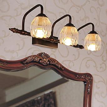 Spiegellampen, Europäisch Klassischen Spiegel Leuchten Badezimmer Badezimmer  Spiegelschrank Licht Schminktisch Spiegel Beleuchtung, 4